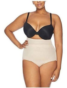 Naomi & Nicole Unbelievable Comfort Plus High Waist Brief