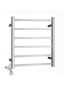 Gama Square Electric Heated Towel Rack 6 Bars