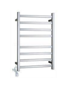 Gama Square Electric Heated Towel Rack 8 Bars