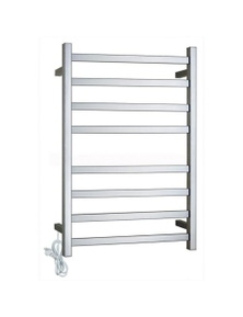Gama Square Electric Heated Towel Rack 8 Bars