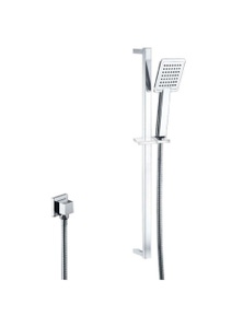 Luxury Square Rainfall Handheld Shower Head Spray