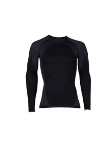 BRBL Black Tooth Mens Long Sleeve Top Base Layer Compression Sports Gym Gear