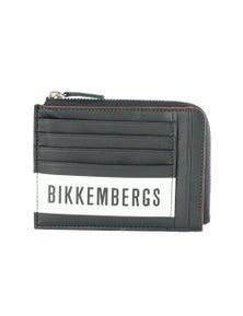 Bikkembergs Black Leather Wallet