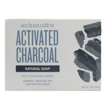 SCHMIDT'S 142g NATURAL SOAP FOR FACE & BODY ACTIVATED CHARCOAL