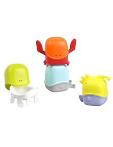 Creatures Interchangeable Bath Toy Cup Set9m+