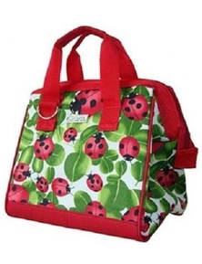 Sachi Designer Insulated Lunch Bag - Lady Bug