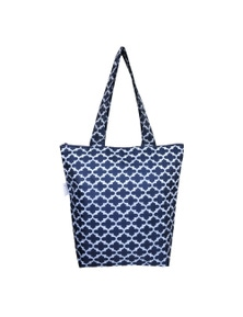 Sachi Insulated Folding Market Tote Bag - Moroccan Navy