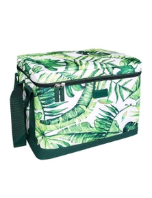 Sachi Insulated Cooler Cube 23L - Jungle Leaf