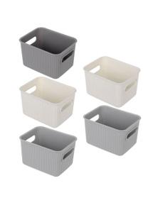 Box Sweden 16x12cm Kaia Storage Basket-Assorted 5PK