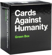 Cards Against Humanity Set Card Game Family Party Gift Expansion - Green Box