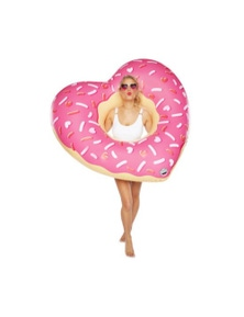 BigMouth Giant Pool Float - Heart Donut
