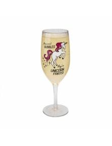 BigMouth Unicorn Farts Champagne Glass