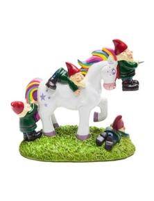 BigMouth Massacre Garden Gnome - Unicorn