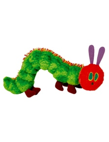 Eric Carle Very Hungry Caterpillar Beanie Toy