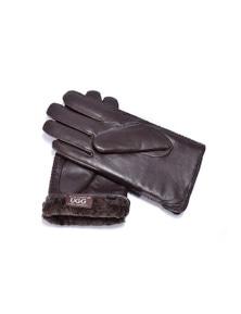 UGG 'Cole' Sheepskin Leather Gloves Men's