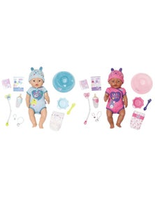 Baby Born Soft Touch Girl Doll and Boy Doll 3Y+ - 2 Pack 43Cm