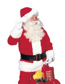 Rubies Santa Suit - Regency Plush Costume