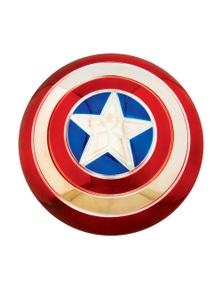 "Rubies Captain America Electroplated Metallic 12"" Shield"