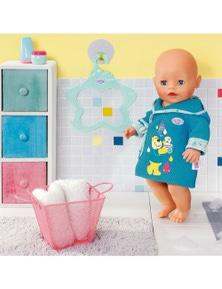 Baby Born Bath BathrobesTeal for 39-46 cm Dolls