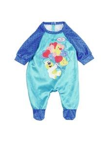 Baby Born Romper - Blue For 43Cm Dolls