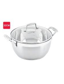 Scanpan Impact Stew Pot 8.5l 32cm