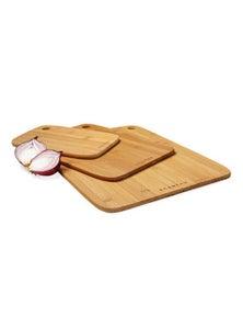Scanpan Bamboo Board Set - 3 Piece