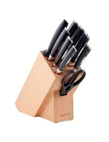 Scanpan Knife Block Set - 10 Piece