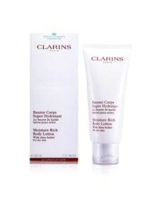 Clarins Moisture Rich Body Lotion with Shea Butter - For Dry Skin