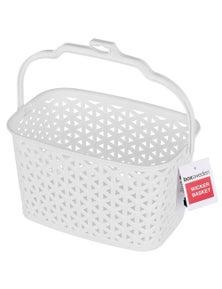 Box Sweden Wicker Design Peg Basket-Assorted 4PK