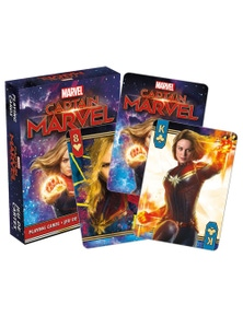 Captain Marvel Movie Playing Cards
