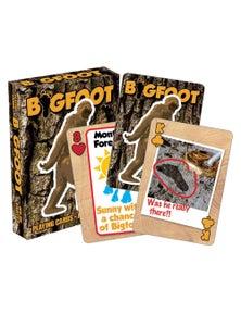 Bigfoot Playing Cards