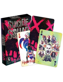 DC Comics Suicide Squad Playing Cards