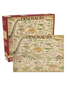 Smithsonian Dinosaurs 1000pc Puzzle