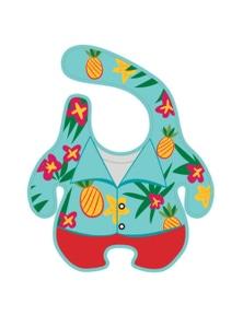 Gamago Baby Bib - Hawaiian Shirt