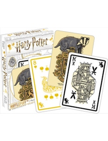 Harry Potter Hufflepuff Playing Cards