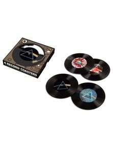 Pink Floyd Dark Side 45 Record Coasters