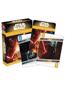 Star Wars Episode 7 Playing Cards