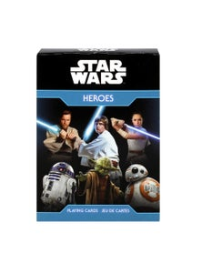 Star Wars Heroes Playing Cards