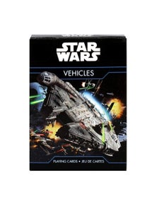 Star Wars Vehicles Playing Cards