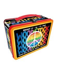 Woodstock Tin Carry All Fun Box