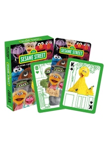 Sesame Street Cast Playing Cards