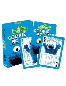 Sesame Street Cookie Monster Playing Cards