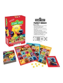 Sesame Street Family Bingo