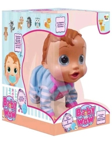 BABY WOW Charlie Interactive Baby Toy Doll Role Play Learn Children Kids