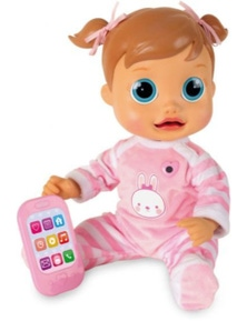 Baby Wow Interactive Emma Toy Baby Toy Doll Role Play Learn Children Kids