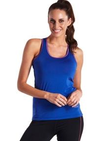 LaSculpte Women's Slim Fit Yoga Contrast Detail Tank Top