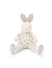 Bunnies By The Bay Bloom Polka Dot Grey Big Buddy