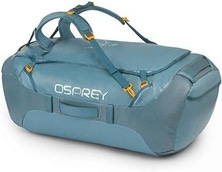 Osprey Transporter 130L Duffle Bag Backpack Travel - Keystone Grey