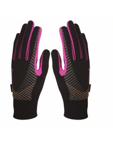 Nike Women?s Elite Storm Fit Tech Running Gloves Small/