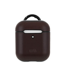 Case-Mate Hookups Case for AirPods w/ Neck StrapBrown Leather